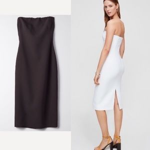 ARITZIA Babaton Brees Strapless Bodycon Dress Blk